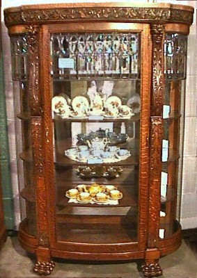 China Cabinets Archive, BRASS LANTERN ANTIQUES